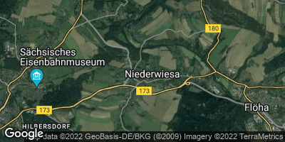 Google Map of Niederwiesa