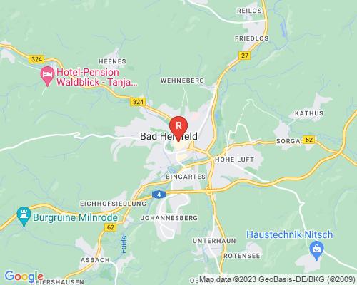 Google Karte von Rohrreinigung Bad Hersfeld