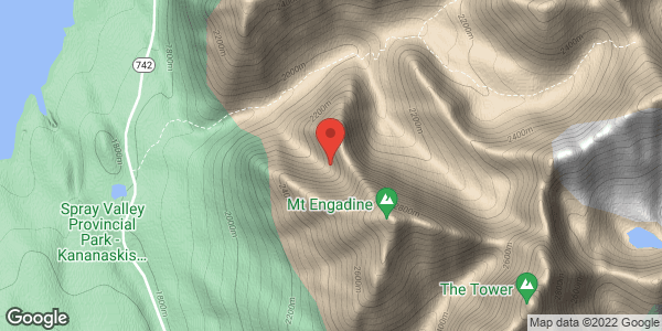 Mt Engadine north aspect