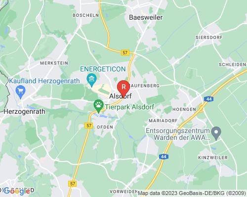 Google Karte von Rohrreinigung Alsdorf