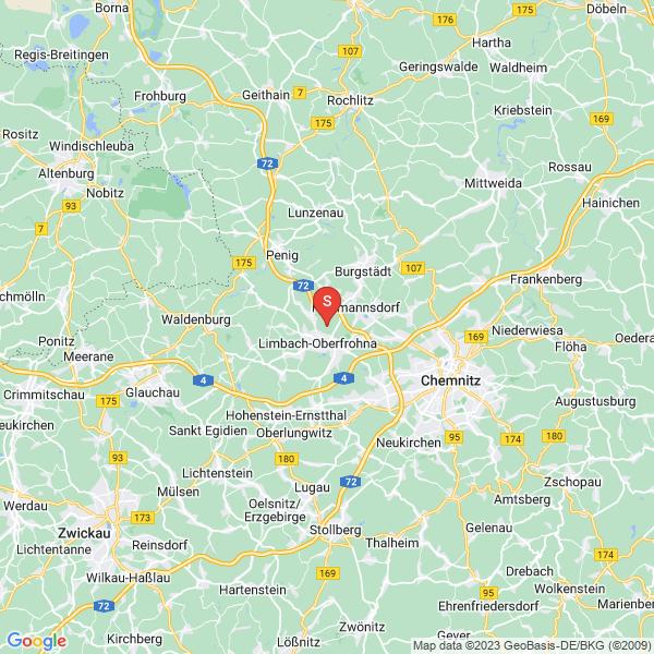 Disc Golf-Anlage Limbach-Oberfrohna – Feriendorf Hoher Hain