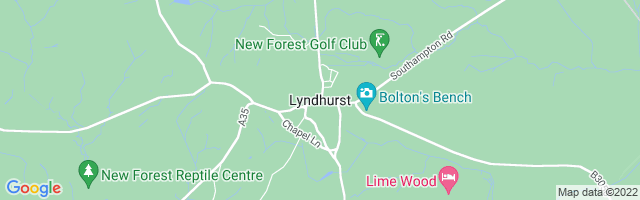 Map Of Lyndhurst