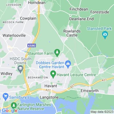 Leigh Park Location