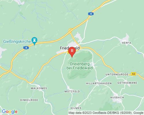 Google Karte von Rohrreinigung Friedewald