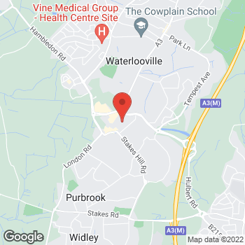Map of wilko Waterlooville at 12/14 Dukes Walk, Waterlooville,  PO7 7HS