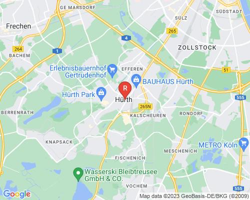 Google Karte von Rohrreinigung Hürth
