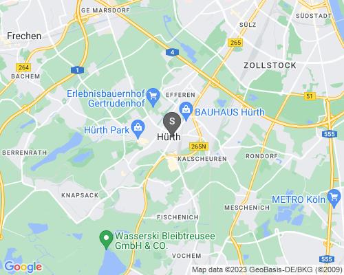 Google Karte von Schlüsseldienst Hürth