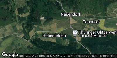 Google Map of Hohenfelden