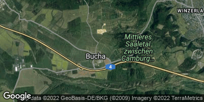 Google Map of Bucha bei Jena