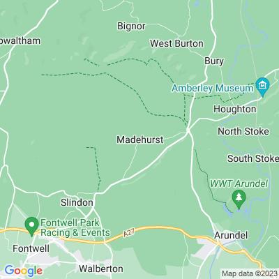 Dale Park, Madehurst Location