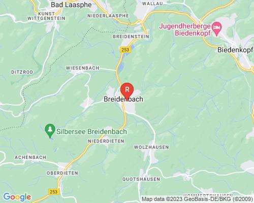 Google Karte von Rohrreinigung Breidenbach