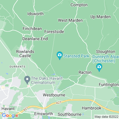 Stansted Park Location