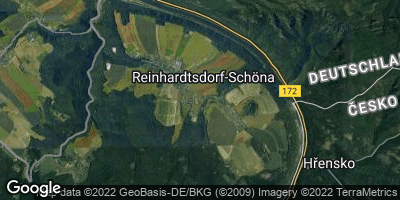 Google Map of Reinhardtsdorf-Schöna