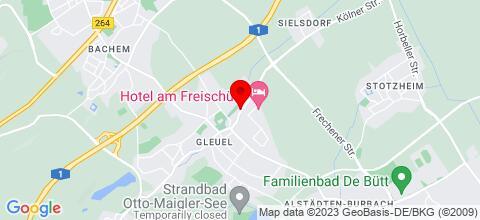 Google Map für Privatunterkunft in Hürth-Gleuel