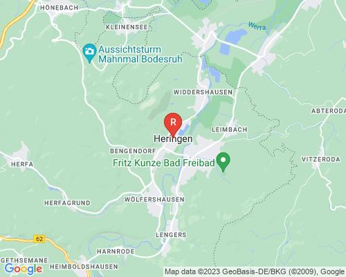 Google Karte von Rohreinigung Heringen