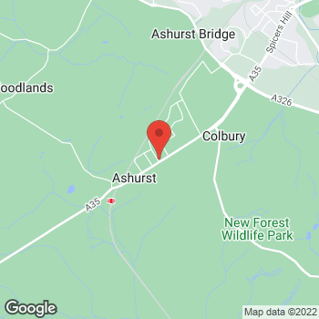 Map of Welcome Ashurst, Lyndhurst Road at 82 Lyndhurst Road, Southampton, Hants SO40 7BE
