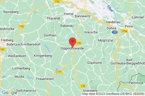 Karte Dippoldiswalde