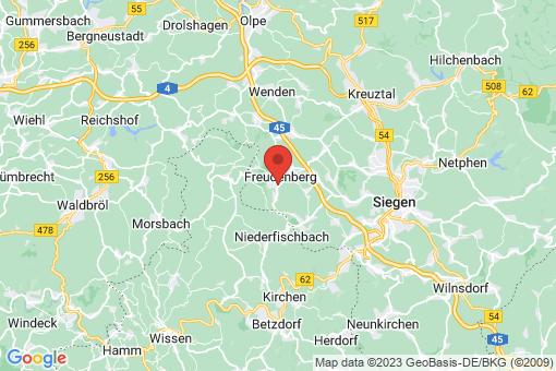 Karte Freudenberg