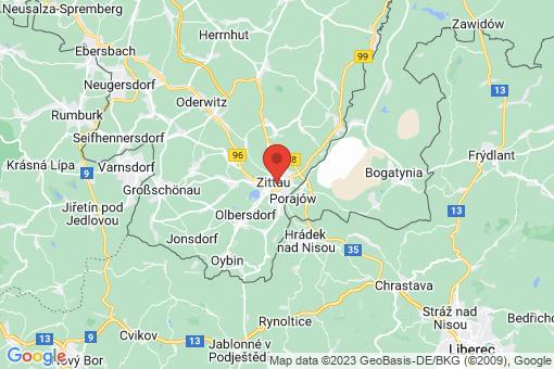 Karte Zittau