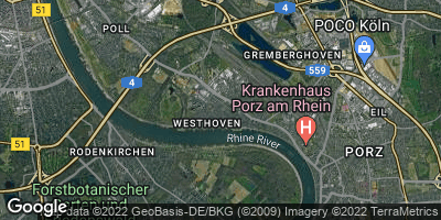 Google Map of Westhoven