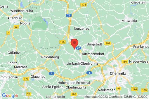 Karte Niederfrohna