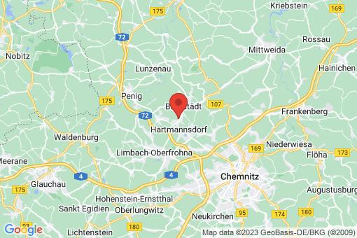 Karte Hartmannsdorf