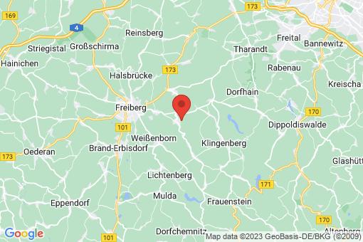 Karte Bobritzsch