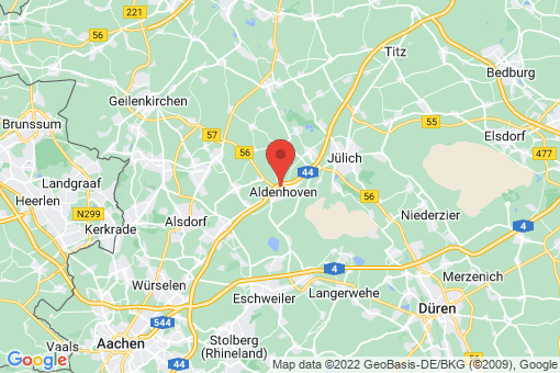 Karte Aldenhoven