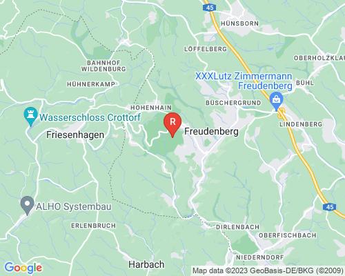 Google Karte von Rohrreinigung Freudenberg