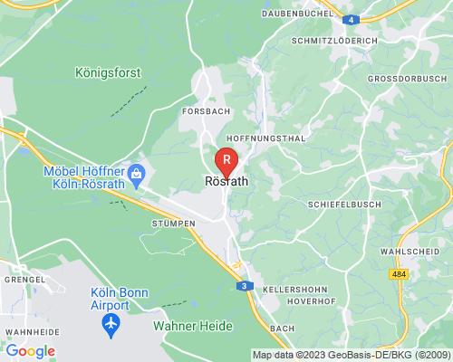 Google Karte von Rohrreinigung Rösrath