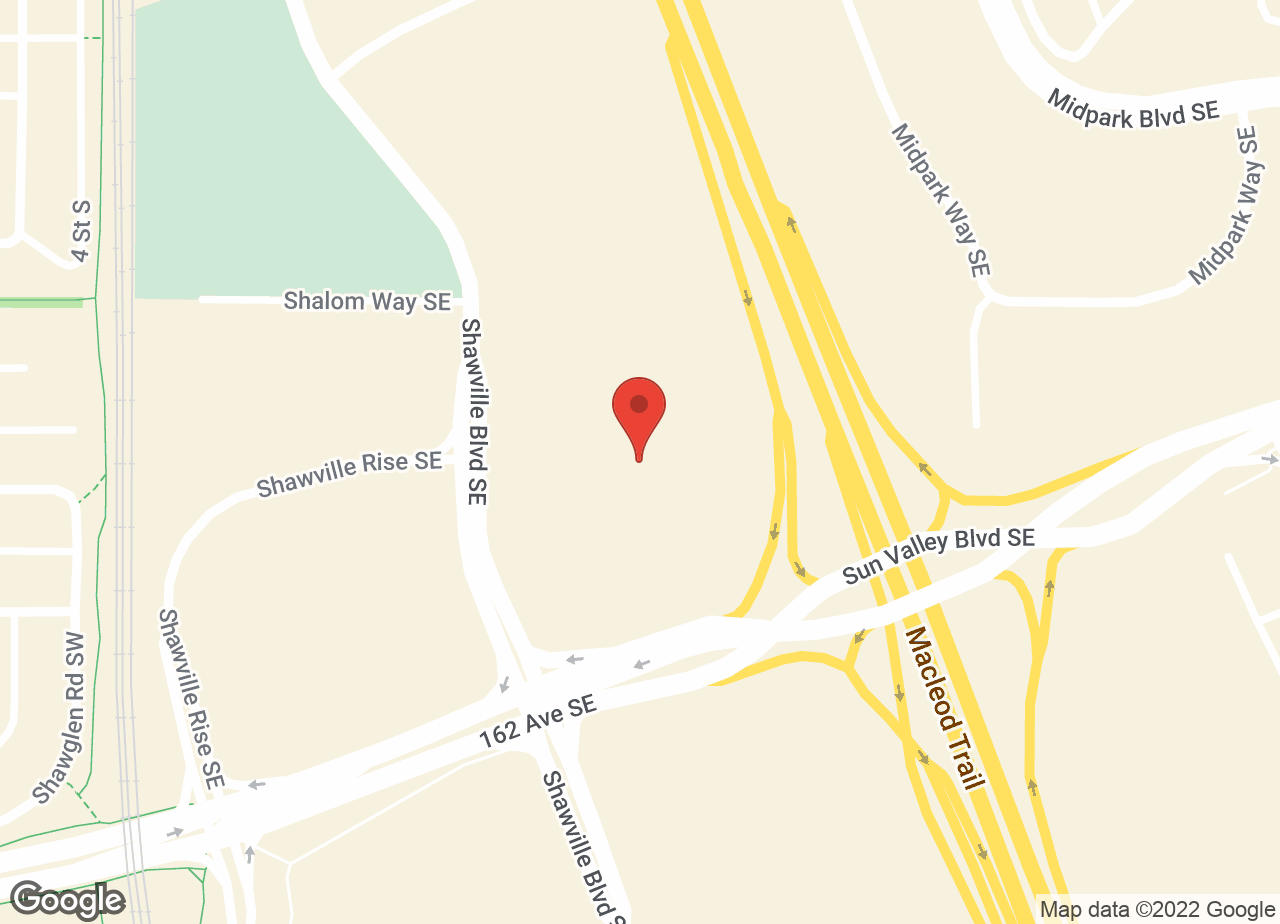 Google Map of Shawnessy South Animal Hospital