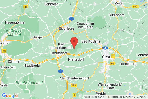 Karte Hermsdorf