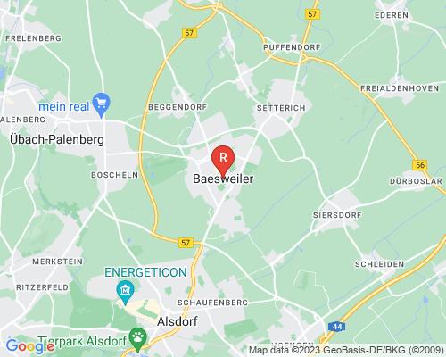 Google Karte von Rohrreinigung Baesweiler