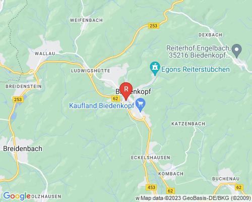 Google Karte von Rohrreinigung Biedenkopf