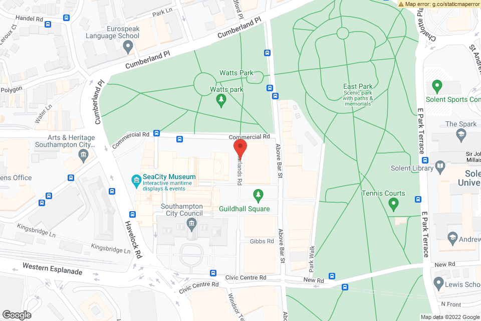 W Marlands Rd, Southampton, SO14 7LP map