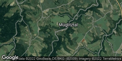 Google Map of Müglitztal