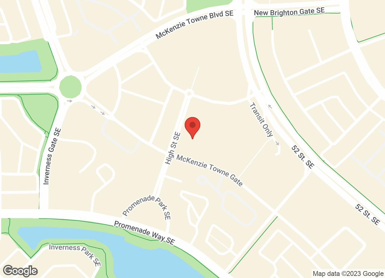Google Map of McKenzie Towne Animal Hospital