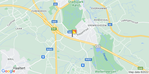 Google Map of 50.9155213, 4.0452163