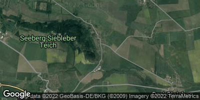 Google Map of Seebergen bei Gotha