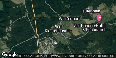 Google Map of Bad Klosterlausnitz