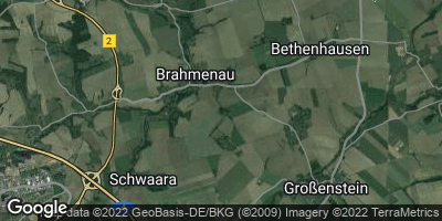 Google Map of Brahmenau