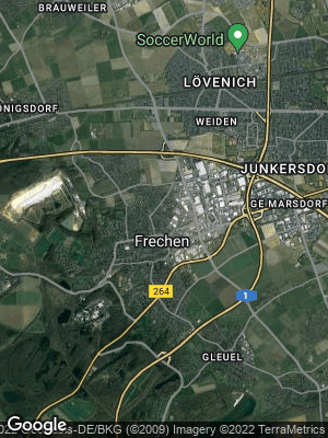 Google Map of Frechen