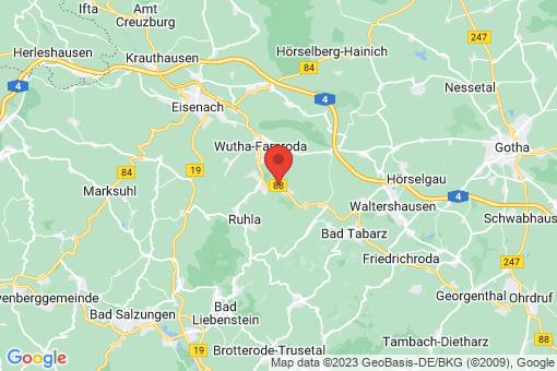Karte Seebach
