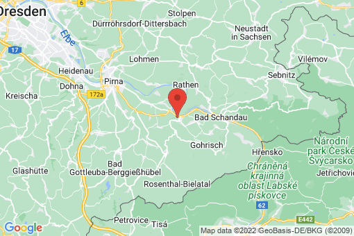 Karte Königstein/Sächsische Schweiz