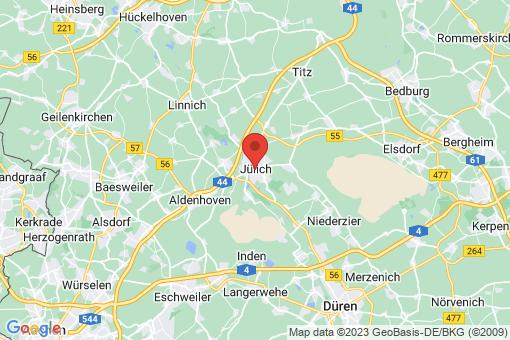 Karte Jülich