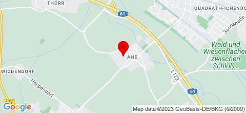 Google Map für Haus Bergheim