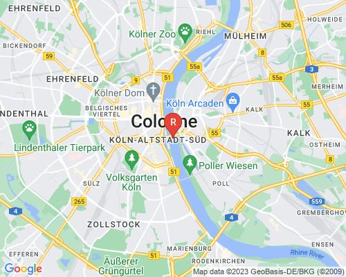 Google Karte von Rohrreinigung Köln