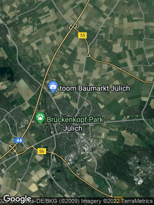 Google Map of Jülich