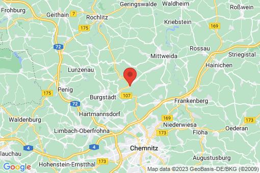 Karte Claußnitz