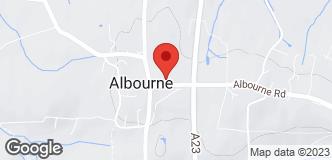 Ernest Doe Power (Albourne) location